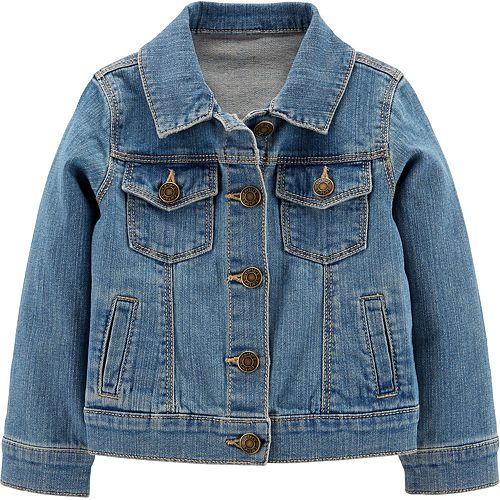 Toddler Girl Carter's Denim Jacket