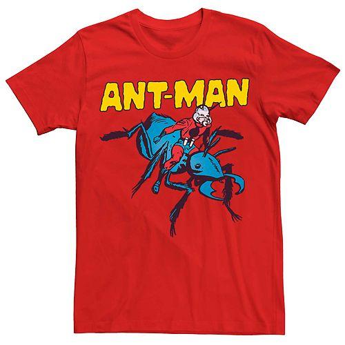 Men's Marvel Ant-Man Ride Ant Poster Tee