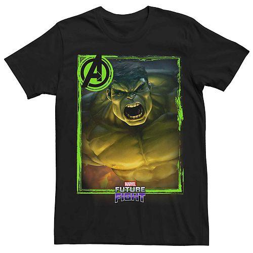 Men's Marvel Hulk Future Fight Poster Tee
