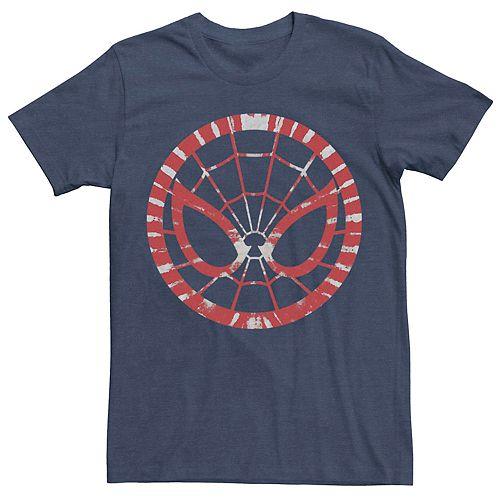 Men's Marvel Spider-Man Tie-Dye Logo Tee