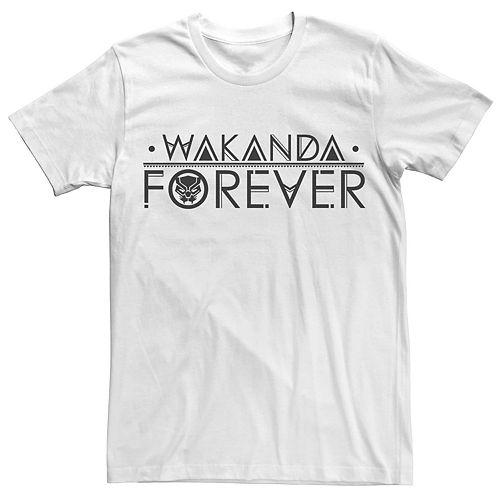 Men's Marvel Black Panther Wakanda Forever Tee