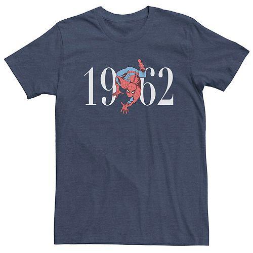 Men's Marvel's Spider-Man Nineteen Sixty Two Logo Tee