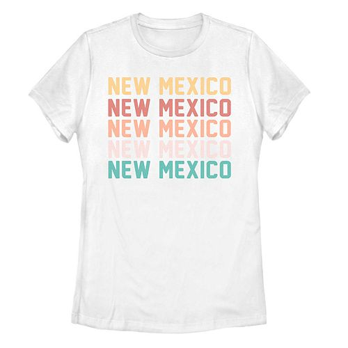 Juniors' New Mexico Stack Graphic Tee