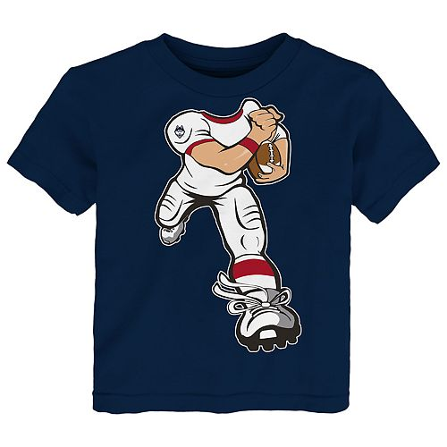 Toddler Boy UConn Huskies Lil' Player Short Sleeve Tee
