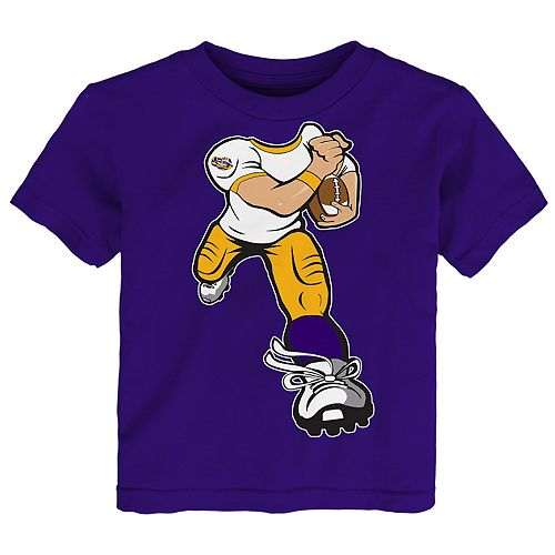 Toddler Boy LSU Tigers Lil' Player Short Sleeve Tee
