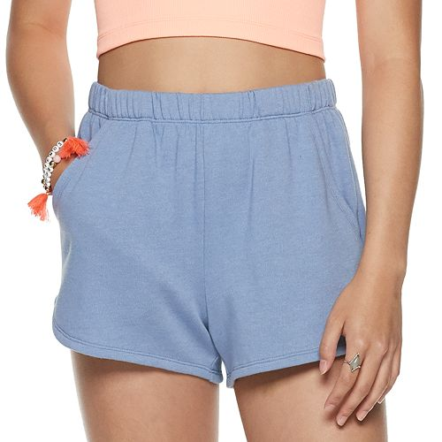 Juniors' SO® High Rise Hem Shorts