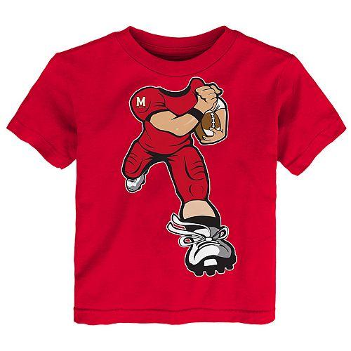Toddler Boy Maryland Terrapins Lil' Player Short Sleeve Tee