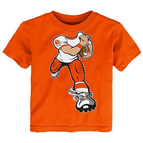 Toddler Boy Clemson Tigers Lil' Player Short Sleeve Tee
