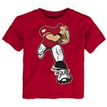Toddler Boy Wisconsin Badgers Lil' Player Short Sleeve Tee