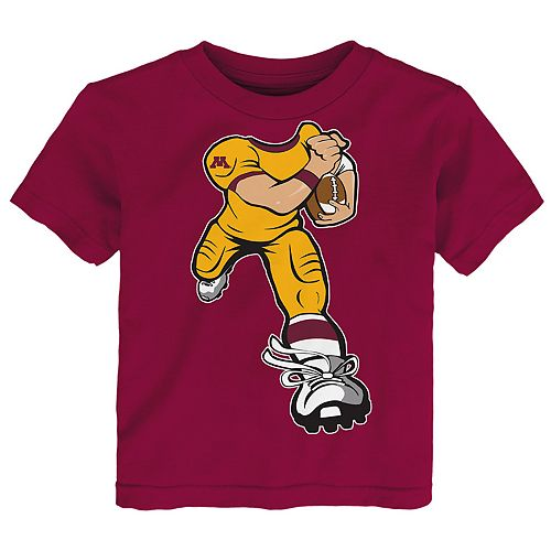 Toddler Boy Minnesota Golden Gophers Lil' Player Short Sleeve Tee