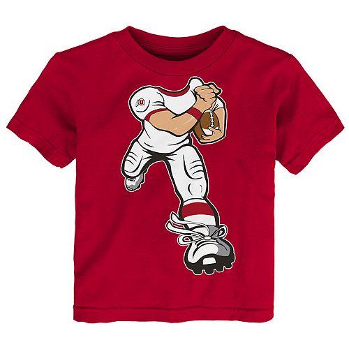 Toddler Boy Utah Utes Lil' Player Short Sleeve Tee