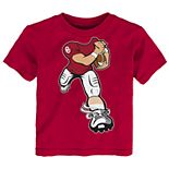 Toddler Boy Oklahoma Sooners Lil' Player Short Sleeve Tee
