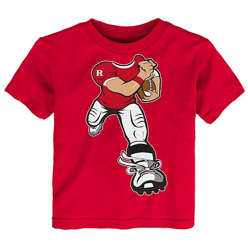 Toddler Boy Rutgers Scarlet Knights Lil' Player Short Sleeve Tee