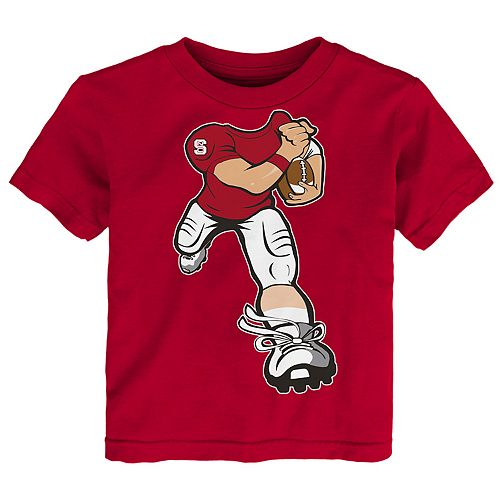 Toddler Boy North Carolina State Wolfpack Lil' Player Short Sleeve Tee
