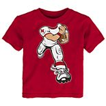Toddler Boy Nebraska Cornhuskers Lil' Player Short Sleeve Tee