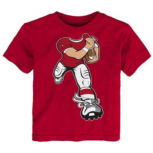 Toddler Boy Louisville Cardinals Lil' Player Short Sleeve Tee