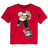 Toddler Boy Georgia Bulldogs Lil' Player Short Sleeve Tee