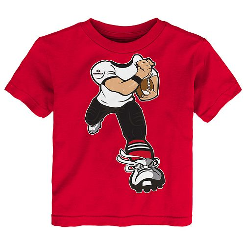Toddler Boy Georgia Bulldogs Lil' Player Short Sleeve Tee