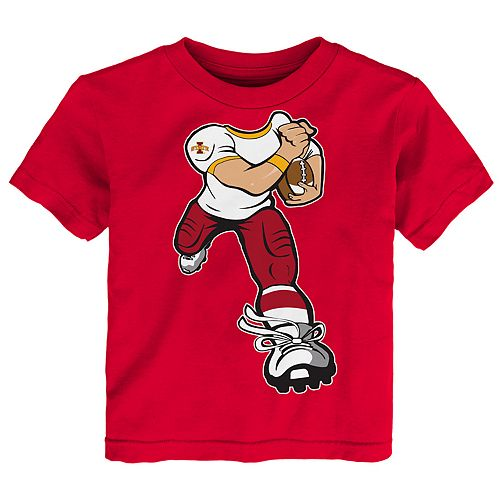 Toddler Boy Iowa State Cyclones Lil' Player Short Sleeve Tee
