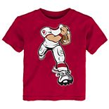 Toddler Boy Indiana Hoosiers Lil' Player Short Sleeve Tee
