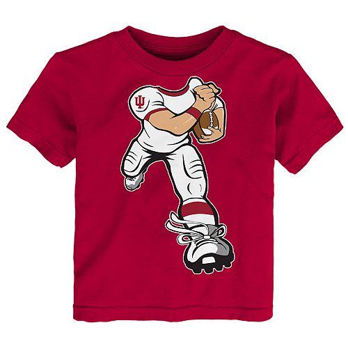 Toddler Boy Indiana Hoosiers Lil' Player Short Sleeve Tee