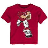 Toddler Boy Alabama Crimson Tide Lil' Player Short Sleeve Tee
