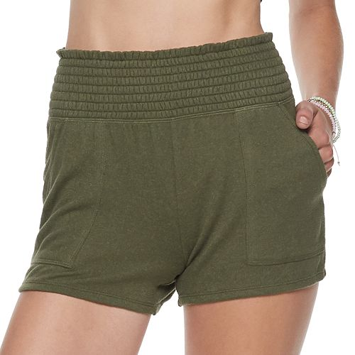 Juniors SO Scrunched Shorts