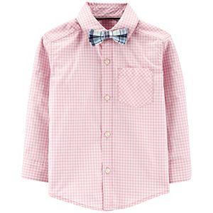 Toddler Boys Carter's 3-Piece Gingham Dress Me Up Set