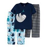 Baby Carter's 3-Piece Sloth Pajama Set