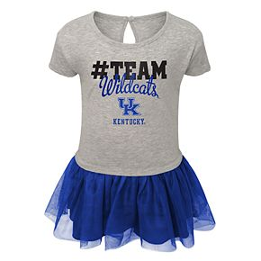 Toddler Girl Kentucky Wildcats Hashtag Team Tutu Dress