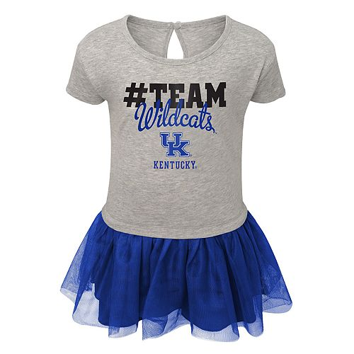 Toddler Girl Kentucky Wildcats Hashtag Team Tutu Dress