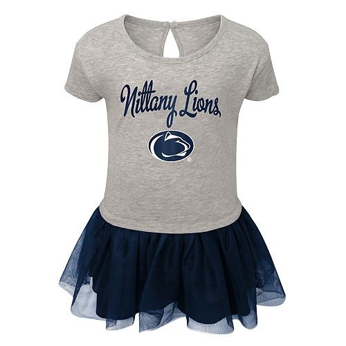 Toddler Girl Penn State Nittany Lions Hashtag Team Tutu Dress