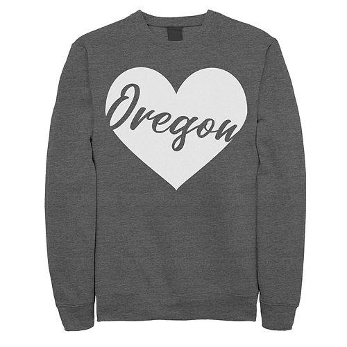 Juniors' Oregon Heart Fleece