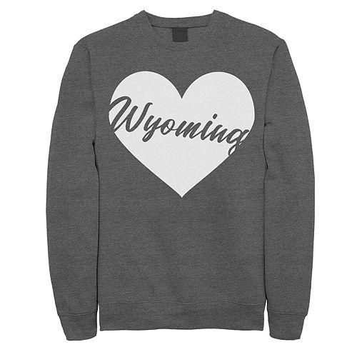 Juniors' Wyoming Heart Graphic Sweatshirt