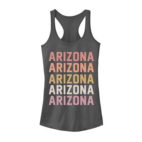 Juniors' Arizona Stack Graphic Tank