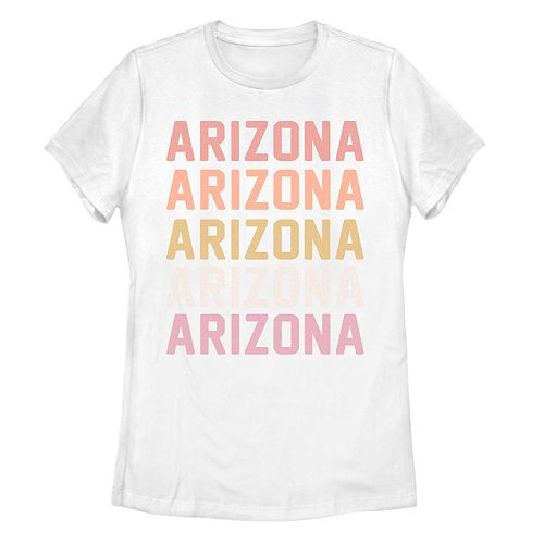 Juniors' Arizona Stack Graphic Tee