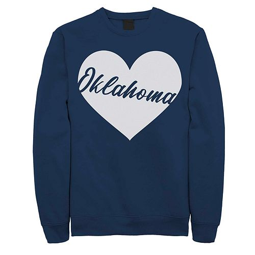 Juniors' Oklahoma Heart Graphic Sweatshirt