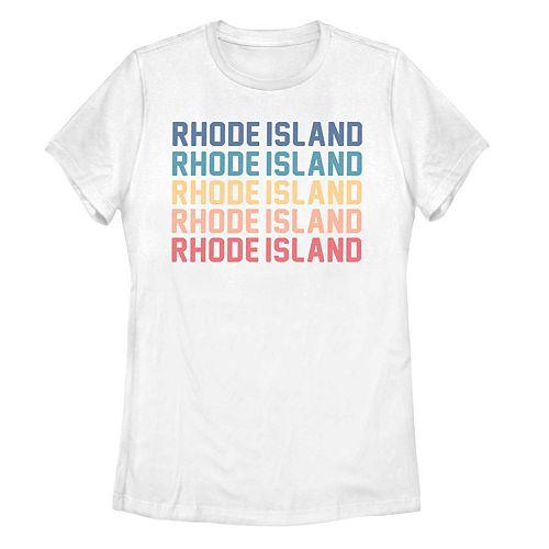 Juniors' Rhode Island Stack Graphic Tee