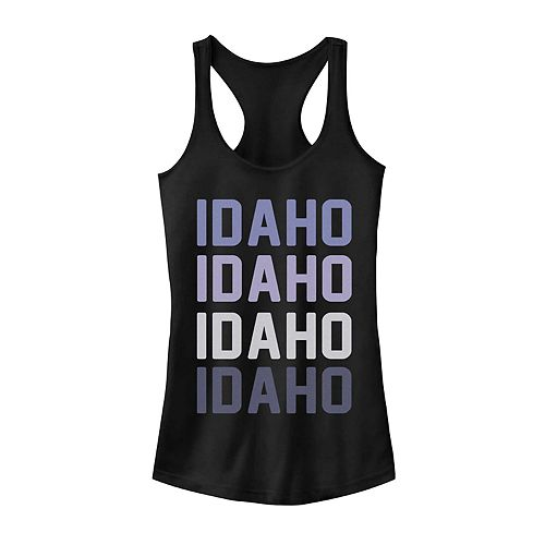 Juniors' Idaho Stack Graphic Tank