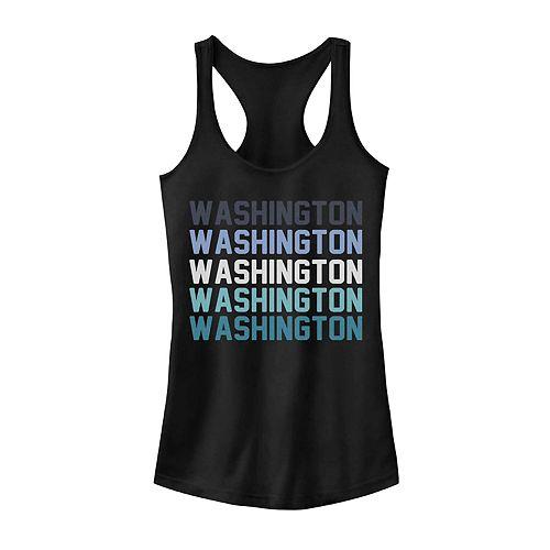 Juniors' Washington Stack Graphic Tank