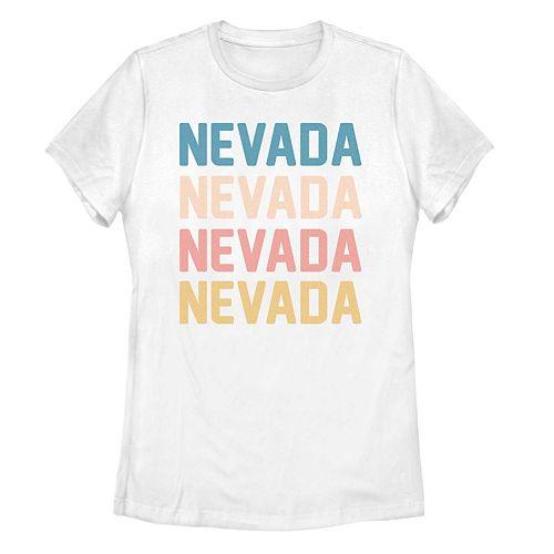 Juniors' Nevada Stack Graphic Tee
