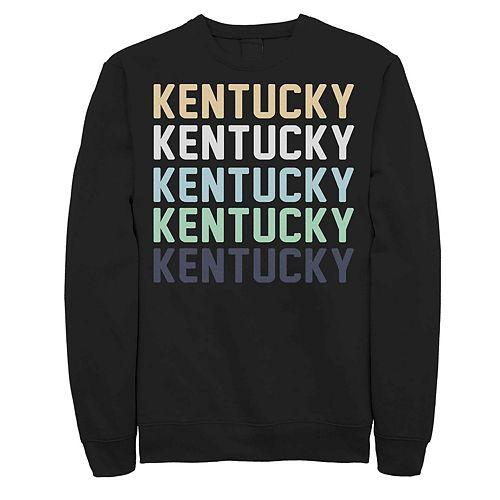 Juniors' Kentucky Stack Graphic Sweatshirt