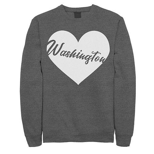 Juniors' Washington Heart Graphic Sweatshirt