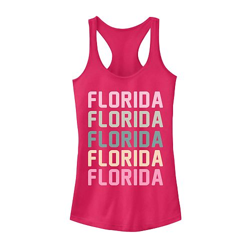 Juniors' Florida State Graphic Racerback Tank