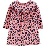 Baby Girl Carter's Leopard Print Jersey Dress