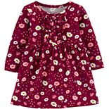 Baby Girl Carter's Floral Jersey Dress