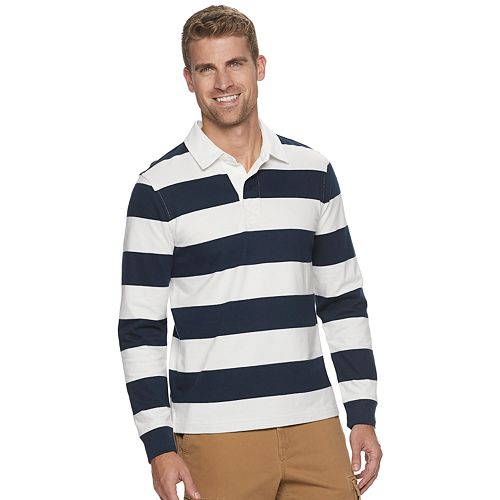 Men's SONOMA Goods for Life™ Striped Rugby Polo