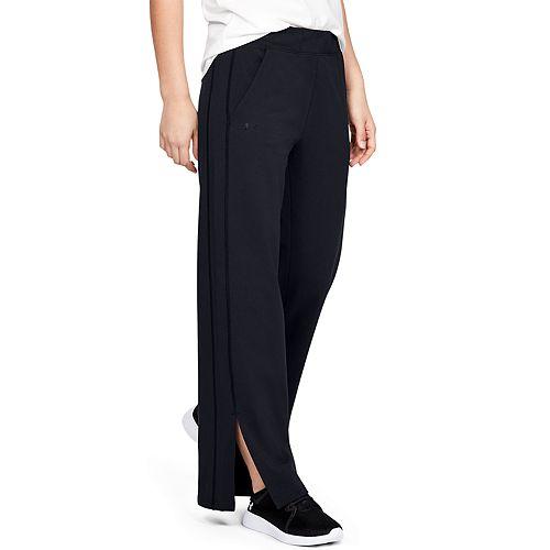 Women's Under Armour Favorite Open Hem Side Split Pants