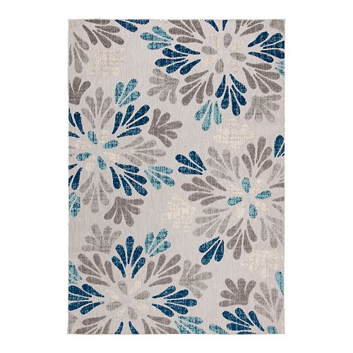 Safavieh Cabana Avery Rug Gray/Blue