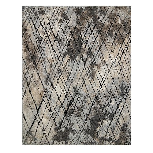 Avenue 33 New Style Witte Gray Area Rug